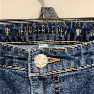 Jennifer Lopez Jeans - JLO JENNIFER LOPEZ Midrise Bootcut Blue Denim Jean